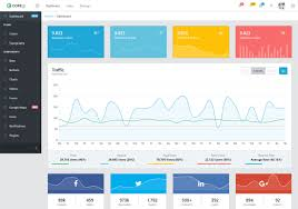 Chart Icon Bootstrap 21 Free Vuejs Admin Templates For Web Applications 2019