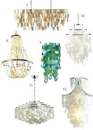 white capiz shell chandelier impressive shell pendant light in large lotus ball for at large