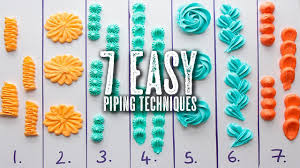 Cake Icing Tips Designs 7 Easy Piping Techniques You Can Master Topless Baker
