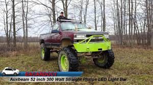 88 98 Chevy 52 Light Bar Brackets Auxbeam 52 Inch 300 Watt Straight Philips Led Light Bar Review