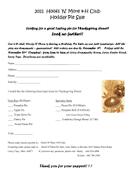 Fundraising Order Form Templates Pie Fundraiser Order Form Word Fill Online Printable
