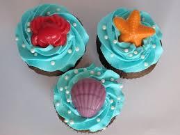 Ariel Cake Decorations Similiar Mermaid Themed Cupcakes Keywords