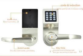 digital office door handle locks. Easy Install Safe Security Digital Password Key Induction Card Remote Door  Lock Home Hotel Office Digital Office Door Handle Locks O