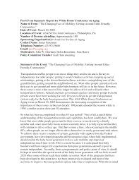 Enchanting Event Summary Report Template Ensign - Example Resume ...