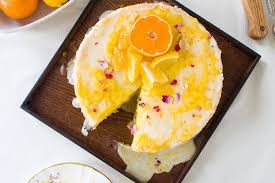 Olive Oil Chiffon Cake with Meyer Lemon Curd Recipe on Food52
