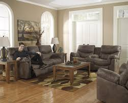 Reclining Living Room Set Signature Design By Ashley Furniture Alzena Gunsmoke Reclining