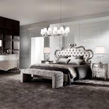 Silver Leaf Bedroom Furniture Italian Ornate Luxury Silver Leaf Bed Juliettes Interiors
