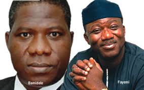 Image result for Fayemi appoints Bamidele