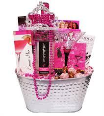 party time bachelorette gift basket