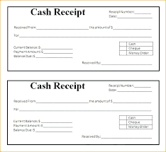 Word Receipts Receipt For Money Paid Template Blank Receipt Template Word Receipt