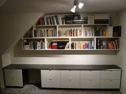 office storage from kitchen and bath