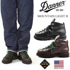 Danner Mountain Light Ii Black Danner Danner Mountain Light 2 Product Made In Boots Mountain Climbing Shoes Mountain Light Ii United States Made In Usa Gore Tex 30800 30860