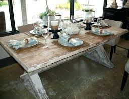 distressed white round dining table oak uk set rustic antique pine furniture s distressed round dining table