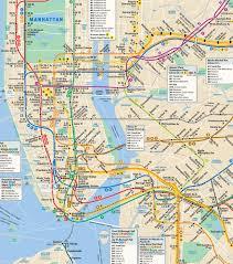 nyc subway map directions  mta subway map directions (new york  usa)