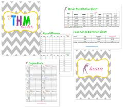 Trim Healthy Mama Free Thm Notebook Printables