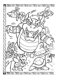 Small Picture Easy Way To Color Nintendo Coloring Pages Toyolaenergycom