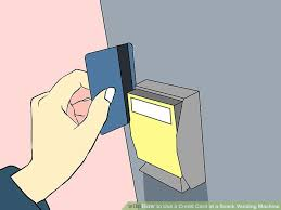 How To Use Credit Card Vending Machine Amazing How To Use A Credit Card At A Snack Vending Machine 48 Steps