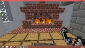 Fireplace In Minecraft