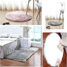 faux fur carpet fluffy plain sheepskin rug soft faux fur gy area rug thick wool carpet faux fur