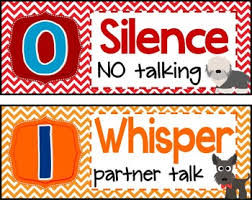 Dog Theme Noise Level Chart By Teaching With Peace Tpt