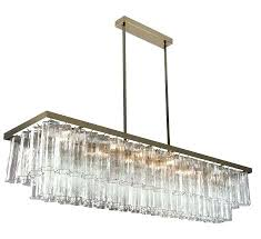 long rectangular chandelier replica item country style vintage crystal drop extra long rectangular