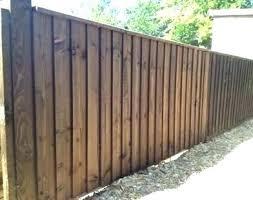 small garden fence ideas fencing designs uk f