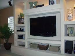 living room muebles para pantallas