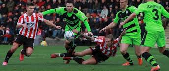 cheltenham town fc v forest green rovers fc at the world of smile stadium whaddon road vanarama national league 21 november 2016 billy waters