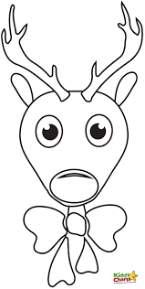 Small Picture Reindeer Color Sheet For Face Coloring Page At glumme