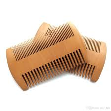 wooden beard comb dual action fine co teeth perfect for use with balms and oils top pocket comb for beards mustaches drop best brush for