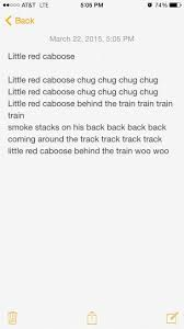 Little Red Caboose Then Repeat Caboose