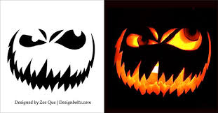 Free Pumpkin Carving Patterns Impressive 48 Free Scary Halloween Pumpkin Carving Patterns Stencils Ideas 48