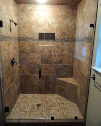 Bathroom Shower Stall Tile Pictures Together With Shower Stall
