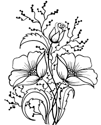 Kids like coloring flowers and so do adults. Print A Picture Of Flowers To Color For Free
