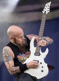 Drowning Pool performing at the Fiesta Oyster Bake Festival in San Antonio,  Texas
