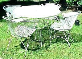 wrought iron vintage patio furniture. Vintage Patio Furniture Wrought Iron Ebay In Remodel 18 G