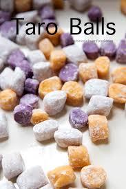 How to Make Taro Balls | China Sichuan Food