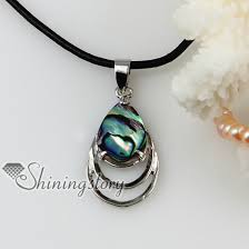 pearl pendants leather necklaces whole