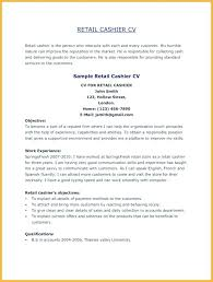 Cashier Cv Template Greenfeathers Co