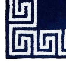 greek key rug navy key rug black and white greek key outdoor rug
