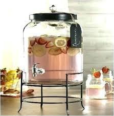 glass beverage dispenser nz replacement lid for drink nser with metal spigot glass beverage dispenser
