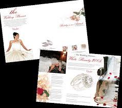 Funky Wedding Planner Brochure Template Ideas - Resume Ideas ...