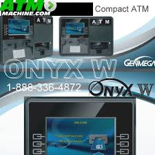 genmega onyx w atm counter top size