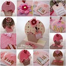 Homemade Card Templates Cupcake Card Template And Tutorial