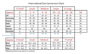 Bra Size Converter Italy Spanx Fitting Chart Cup Size