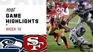 49er Lights Seahawks Vs 49ers Week 10 Highlights Nfl 2019