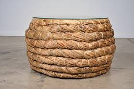 amazing of woven coffee table with round woven coffee table my blog