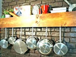 kitchen hanging rack kitchen hanging rack pan hanging rack s s pan hanging rack hanging pot racks