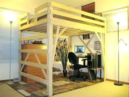 bed with office underneath. Lofted Bed With Desk Underneath Office Bunk Desks And O