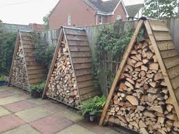 firewood rack plans with roof diy photograph